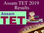 Assam Tet Result 2019 Released At Ssa Assam Gov In Sebaonline Org