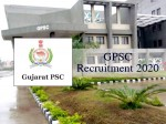 Gpsc Recruitment 2020 For 1466 Vacancies For Police Inspector And Others