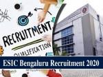 Esic Bengaluru Recruitment 2020 Online Apply Till January 21 For Tutor Posts