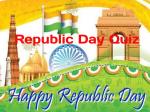 Republic Day Quiz In Hindi