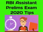 Rbi Assistant Exam Tips In Hindi