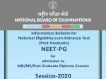 Neet Pg 2020 Counseling Schedule Pdf Neet Pg 2020 Date