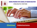 Ap Government Apsche Conduct College Admission Process Online