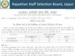Rsmssb Recruitment 2020 Notification Apply Online