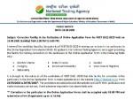 Neet Ug 2020 Application Form Correction Window Cloased Last Date September