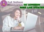 Du Admission 2020 Live Updates Du Cut Off List Du Admission Dates