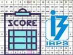 Ibps Po Score Card 2021 Ibps Po Cut Off 2021 Download
