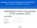 Ctet Answer Key 2021 Paper 1 2 Ctet Omr Sheet 2021 Ctet Answer Key 2021 Objection Direct Link
