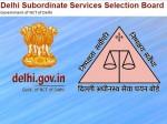 Dsssb Recruitment 2021 Tgt Ldc Clerk Patwari 7236 Posts