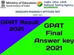 Gpat Final Answer Key 2021 Pdf Download
