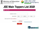 Jee Main Toppers List