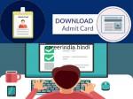 Ssc Chsl Admit Card 2021 Download Link