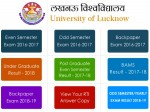 Lucknow University Result 2021 Check Direct Link