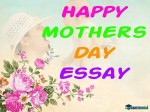 Mothers Day Essay