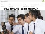 Goa Board 12th Result 2021 Marksheet Download