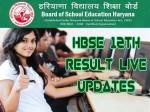 Hbse 12th Result 2021 Live Updates