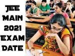 Jee Main 2021 Exam Date
