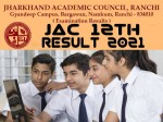 Jharkhand Board 12th Result 2021 Live Updates