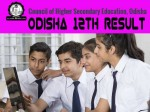 Odisha 12th Result