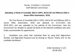 Ssc Gd Constable 2021 Rank Card Download