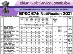 Bpsc 67th Notification 2021 Pdf Download Application Form