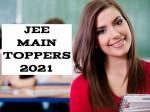 Jee Main Topper 2021 Name Rank Percentile