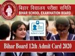 Bihar Board 12th Admit Card 2020 Download PDF / बिहार बोर्ड 12वीं परीक्षा एडमिट कार्ड 2020 डाउनलोड