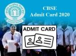 CBSE Admit Card 2020 / सीबीएसई एडमिट कार्ड 2020: कक्षा 10वीं 12वीं बोर्ड परीक्षा 2020 के एडमिट कार्ड