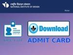 NID DAT Admit Card 2021 Download Direct Link: एनआईडी डीएटी प्रीलिम्स एडमिट कार्ड 2021 डाउनलोड करें