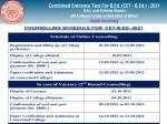 Bihar BEd CET Counselling 2021: बिहार बीएड सीईटी काउंसलिंग 2021 शुरू, कॉलेज आवंटन लिस्ट देखें