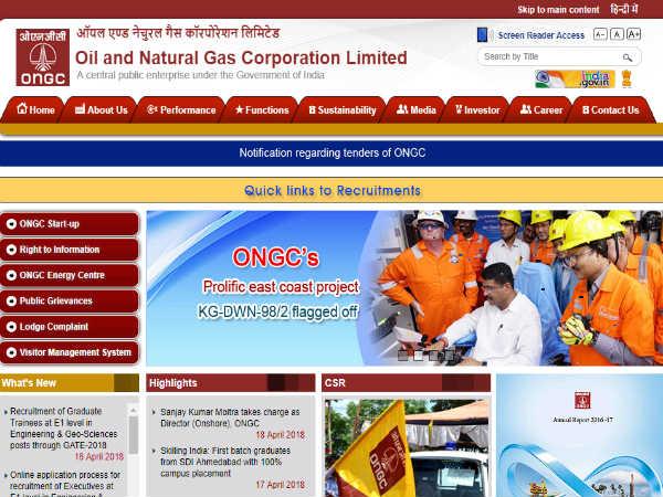 ONGC 1032 ग्रेजुएट ट्रेनी और जियो साइंसेज भर्ती