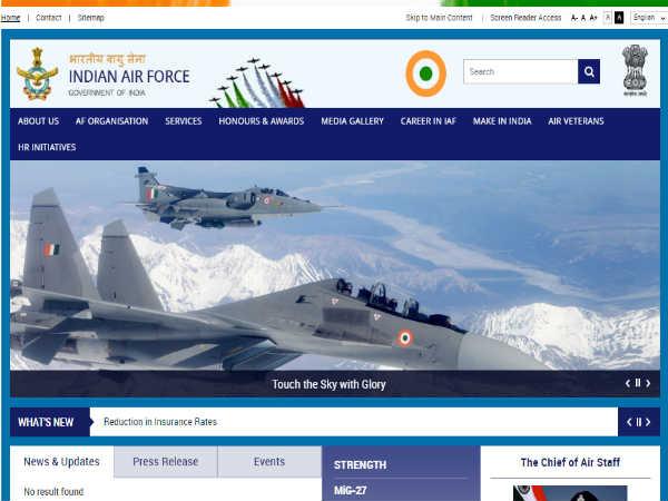 Indian Air force Recruitment: क्लर्क, मल्टीटास्किंग और मेस स्टाफ के 89 पदों पर भर्ती