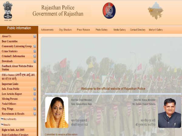 राजस्थान पुलिस भर्ती 2018: कांस्टेबल के 13142 पदों पर भर्ती, जल्द करे आवेदन