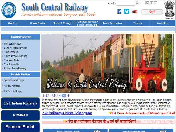 Railway Jobs 2018: साउथ सेंट्रल रेलवे में अप्रेंटिस के 4103 पदों पर भर्ती