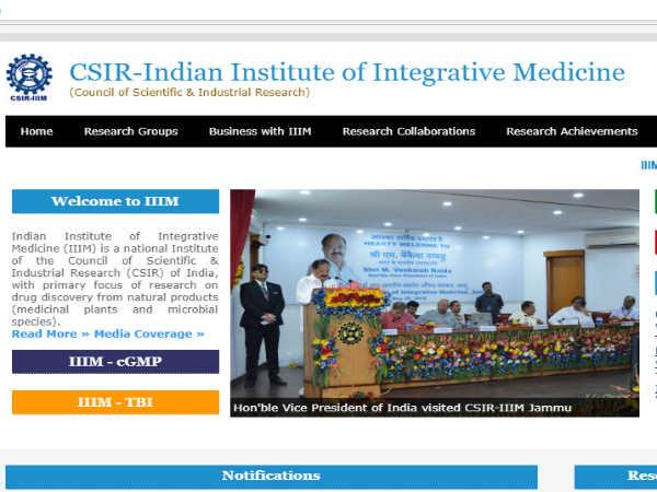 CSIR IIIM Jammu Recruitment: प्रोजेक्ट असिस्टेंट के 16 पदों पर भर्ती, ऐसे करें आवेदन