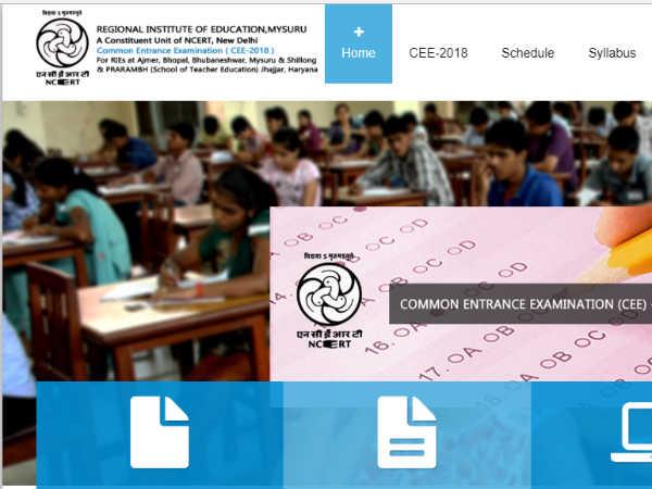 NCERT RIE CEE 2018: जारी हुए RIE CEE-2018 के रिजल्ट, ऐसे करें चेक