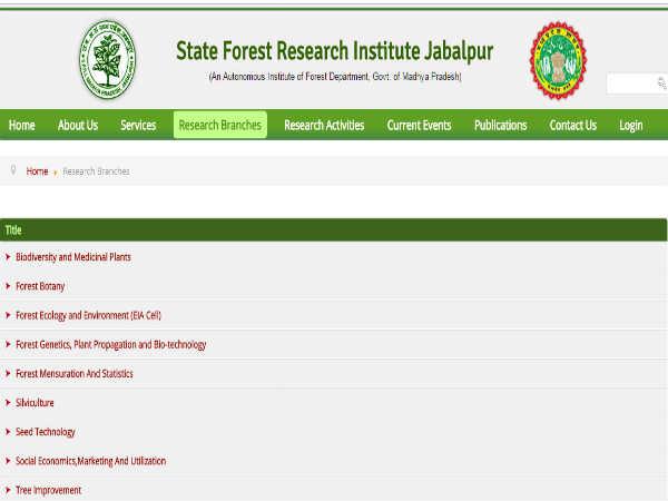 SFRI Jabalpur Recruitment 2018: JRF और फील्ड असिस्टेंट के पदों पर वॉक-इन-इंटरव्यू से भर्ती