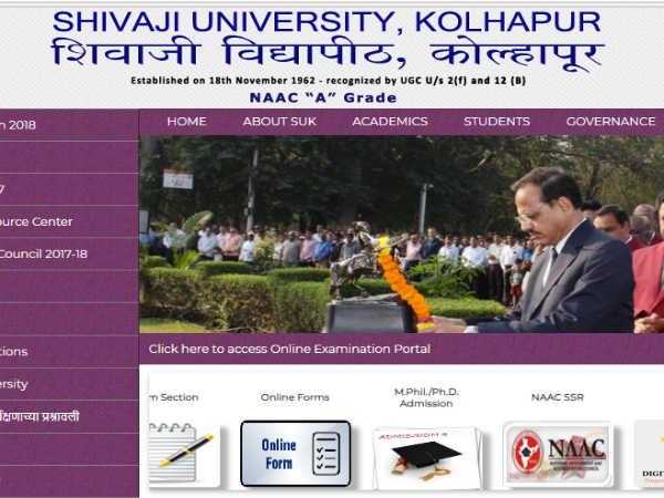 Shivaji University Recruitment 2018: शिवाजी यूनिवर्सिटी, कोल्हापुर में कई पदों इंटरव्यू से भर्ती