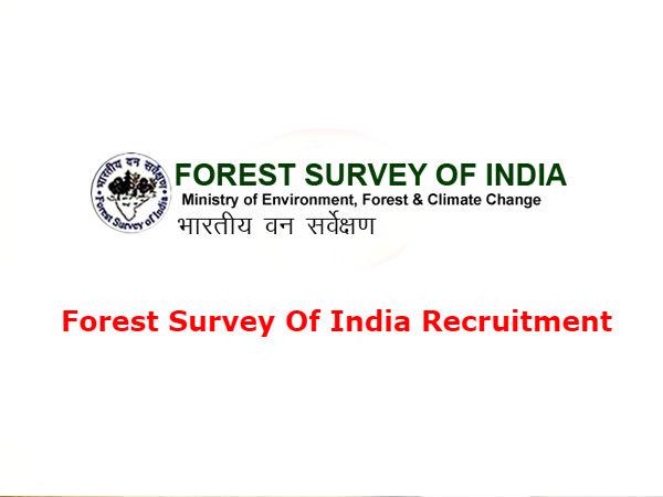 Forest Survey Of India Recruitment:  FSI देहरादून में कई पदों पर निकली भर्ती