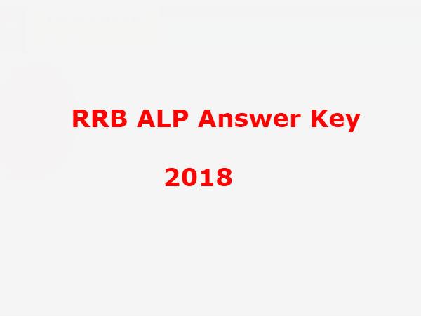 RRB ALP Answer Key 2018: आरआरबी एएलपी की Answer Key हुई जारी, ऐसे करें चेक