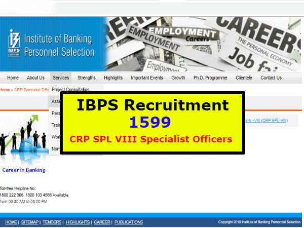 IBPS Recruitment: आईबीपीएस में 1599 पदों पर निकली नई वैकेंसी, जानिए डिटेल्स