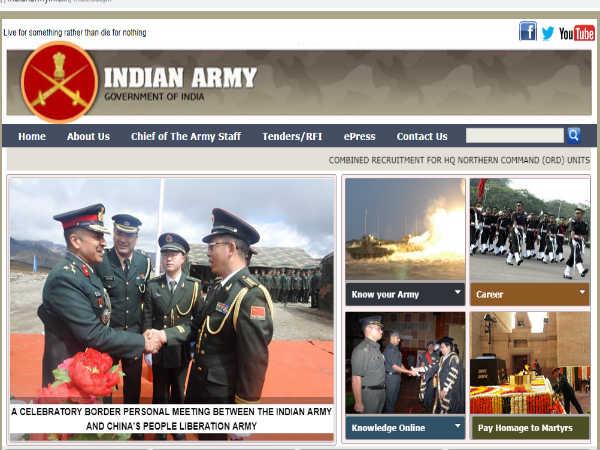 Indian Army Recruitment 2018: LDC, MTS, फायरमैन और अन्य पदों पर बंपर भर्ती, ऐसे करें आवेदन