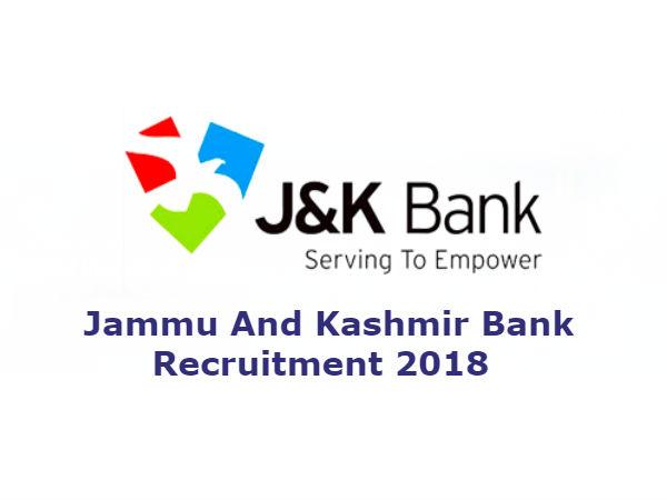 जम्मू एंड कश्मीर बैंक (J&K) में 1200 पदों पर बैंकिंग एसोसिएट्स की भर्ती, ऐसे करें आवेदन