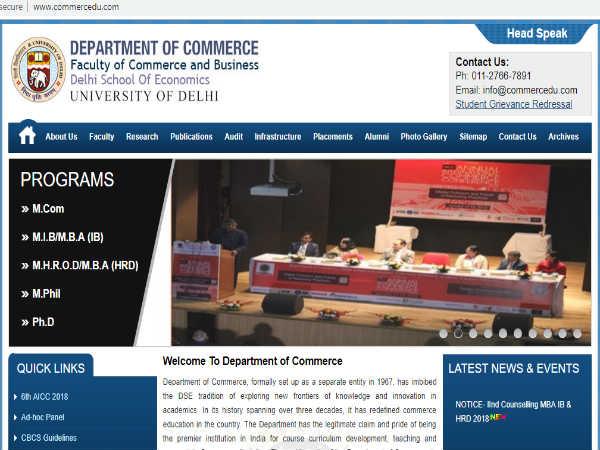 DSE MBA Admission 2019: दिल्ली स्कूल ऑफ इकोनॉमिक्स के एमबीए पाठ्यक्रम 2019 के लिए रजिस्ट्रेशन शुरू