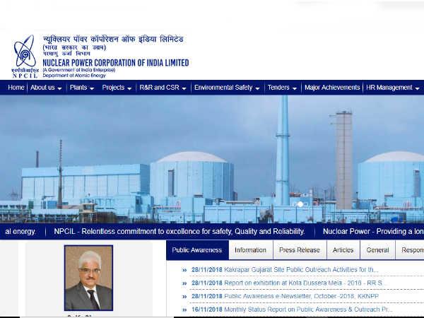 NPCIL: न्यूक्लियर पॉवर कॉर्पोरेशन ऑफ इंडिया लिमिटेड में ग्रेजुएट्स के लिए निकली कई पदों पर भर्ती