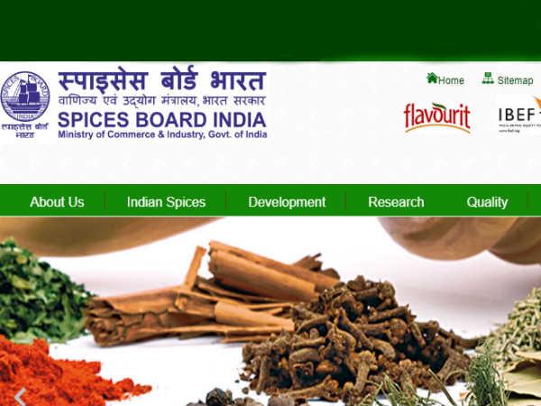 SPICES BOARD INDIA में स्पाइसेस एक्सटेंशन ट्रेनी के पदों पर भर्ती, Bsc वाले करें आवेदन