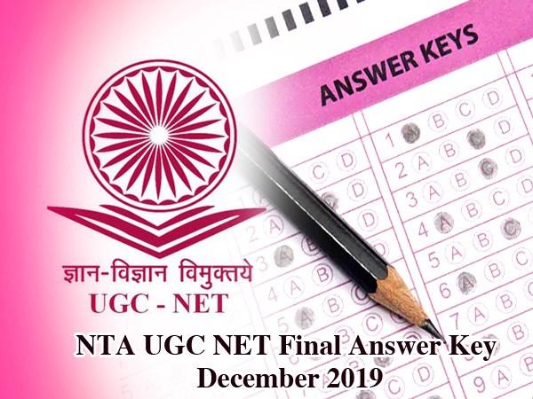 UGC NET Final Answer Key December 2019: एनटीए ने जारी की यूजीसी नेट की फाइनल अंसार की, ऐसे करें चेक