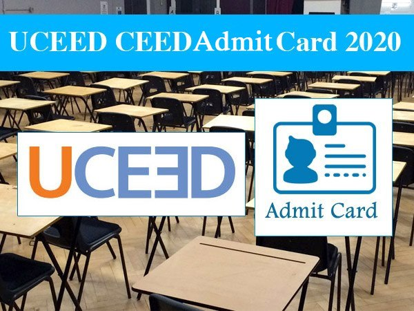 UCEED, CEED Admit Card 2020: यूसीईईडी और सीईईडी परीक्षा के एडमिट कार्ड जारी, यहां से करें डाउनलोड