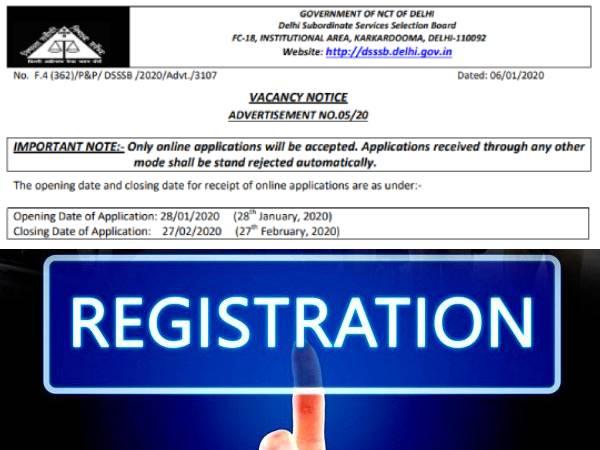 DSSSB Recruitment 2020: डीएसएसएसबी भर्ती 2020 सरकारी नौकरी के लिए 10वीं 12वीं पास ऐसे करें आवेदन