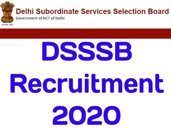 DSSSB Recruitment 2020 / डीएसएसएसबी भर्ती 2020 दिल्ली में ड्राईवर की सरकारी नौकरी के लिए करें आवेदन